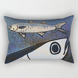 Tuna Fish and Others Rectangular Pillow