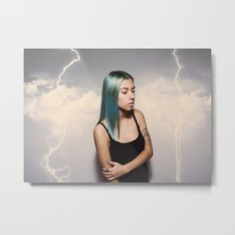 They Sicken of the Calm who Knew the Storm Metal Print