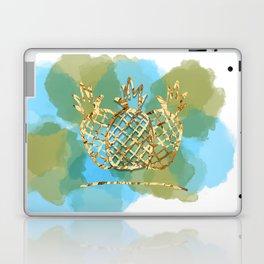 pineapple paradise Laptop & iPad Skin
