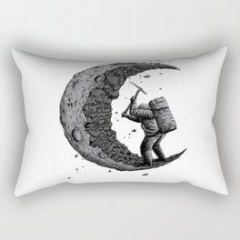 Moon miner Rectangular Pillow