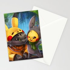 Cosplay Buddies Stationery Cards