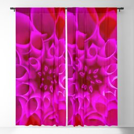 Pink Pop Flower of Fantasy Graphic Design Blackout Curtain