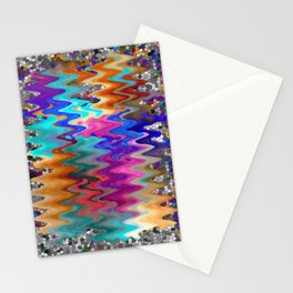 Zig Zag Stationery Cards