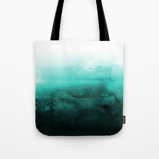 Green Lagoon Tote Bag