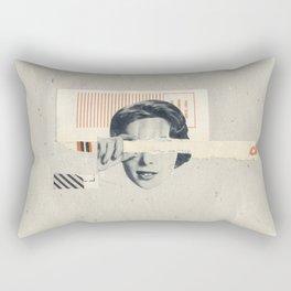 Torn Around - ck Rectangular Pillow