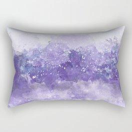 Choppy Purple Ocean Water Rectangular Pillow