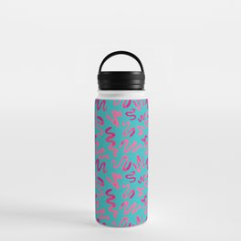Squiggles Pattern Water Bottle