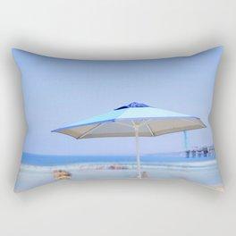 Summer's Umbrella Rectangular Pillow