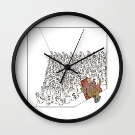Ability to get paid for not working Wall Clock