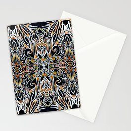 Feather Flames Stationery Cards