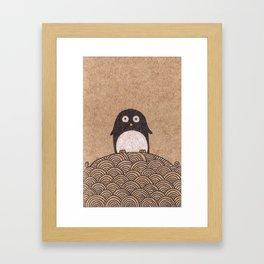 King Penguin of Penguin Nation Framed Art Print