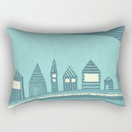 Where Seven Dwarfs Live Rectangular Pillow