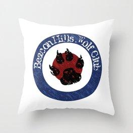 Wolf Badge Throw Pillow