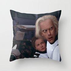 I Find Your Lack Of Jiggawatts Disturbing Throw Pillow