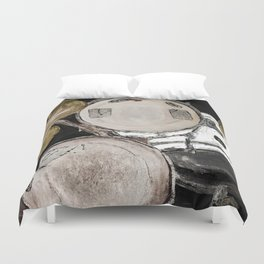 drum set, ready to rock Duvet Cover