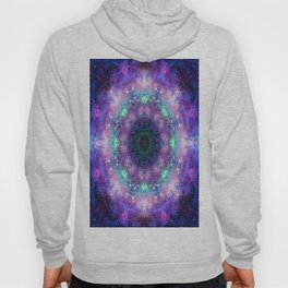 Trippy Purple Deep Space Mandala Hoody