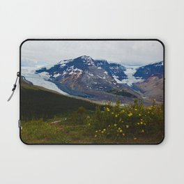 The Athabasca & Snow Dome Glaciers in Jasper National Park, Canada Laptop Sleeve