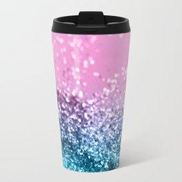 Tropical Beach Lady Glitter #1 #shiny #decor #art #society6 Travel Mug
