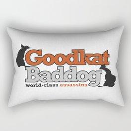 Goodkat & Baddog. Rectangular Pillow