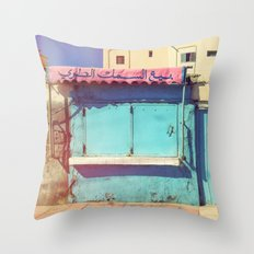 Sunday in Morocco Throw Pillow