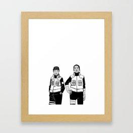 Earl Nara x A$AP Rock Lee Framed Art Print