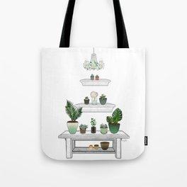 Garden Pyramid Tote Bag