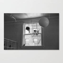 Hanging Shapes Canvas Print
