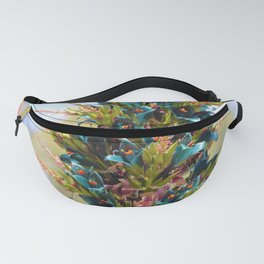 Blue Sapphire Tower of Beauty by Reay of Light Photography Fanny Pack