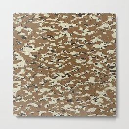 Camouflage: Arid Desert II Metal Print