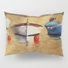 Resting boats Pillow Sham