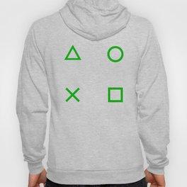 Green Gamer Pattern Hoody