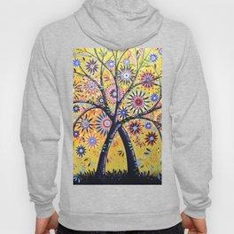 Abstract Art Landscape Original Painting ... Flowering Tree Hoody