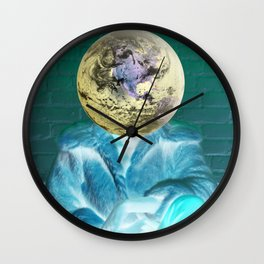 Seek No Approval Wall Clock