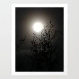 Worm Moon 2019 Art Print