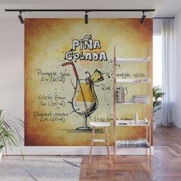 Pina Colada Wall Mural