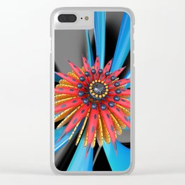 Mastery Flower Clear iPhone Case