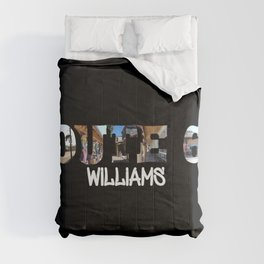 Route 66 Williams Big Letter Comforters