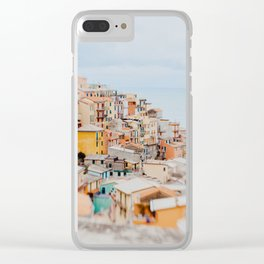 Manarola, Cinque Terre III Clear iPhone Case