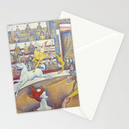Georges Seurat artwork - The Circus Stationery Cards