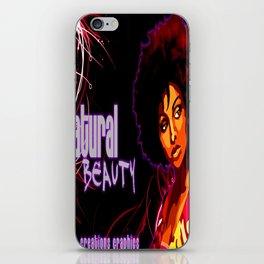 Natural Beauty iPhone Skin