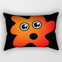 Surprised Stain Rectangular Pillow