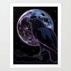 Raven of Nevermore Art Print