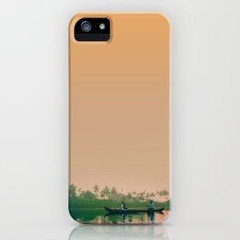 KERALA SUNSET iPhone Case