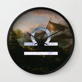 Fine Zodiac / Libra Wall Clock