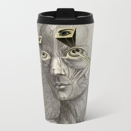 I CAN'T UNSEE IT Metal Travel Mug