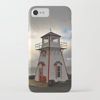 lighthouse iPhone & iPod Cases featuring Lighthouse by Sartoris ART