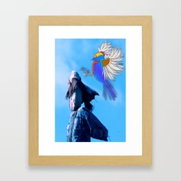 BIRD SYNECTICS2 #1 Framed Art Print