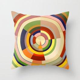 Colour Revolution FIVE Throw Pillow