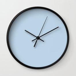 Pale Aqua - solid color Wall Clock