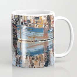 Reflections of Porthleven Harbour  Coffee Mug
